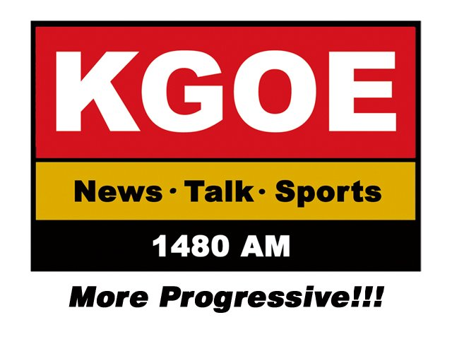 QSL: KGOE Newstalk 1480, Eureka CA