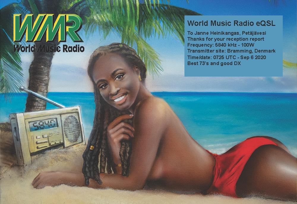 [QSL] DNK: World Music Radio 5840