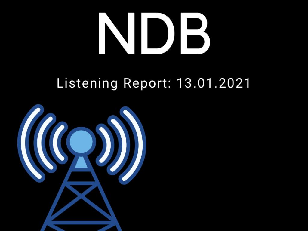 NDB: Listening Report 13.01.2021